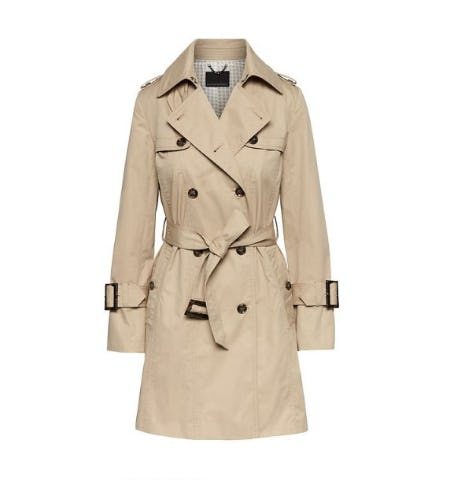 Water-Resistant Classic Trench Coat from Banana Republic