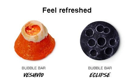Feel Refreshed from LUSH