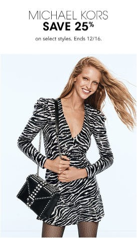 Michael Kors Save 25% from Bloomingdale's