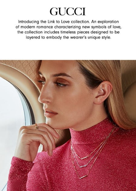 Gucci Link to Love Collection from Neiman Marcus