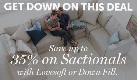 save Up to 35% on Sactionals from Lovesac