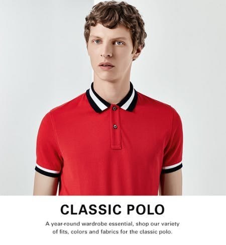 Shop Our Polos