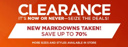 Up to 70% Off Clearance from Kohl's