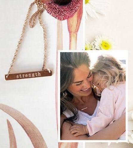 14k Rose Gold Overlay Necklace Free With a $75 Purchase from Crabtree & Evelyn
