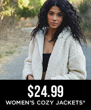 $24.99 Women's Cozy Jackets from Tillys