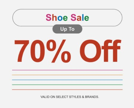 Shoe Sale up to 70% Off from Zumiez
