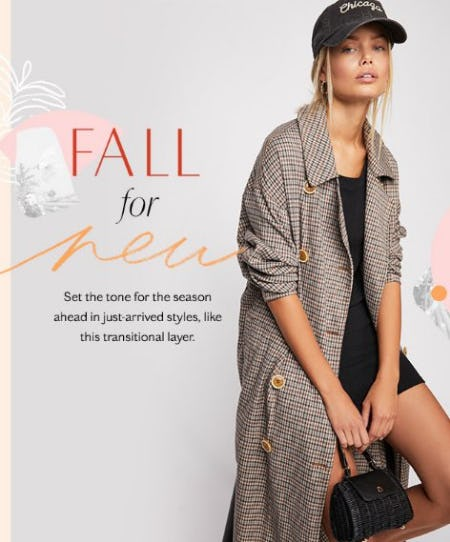 Fall for New from Free People