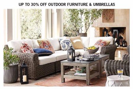 Beautiful Up To 30% Off Outdoor Furniture U0026 Umbrellas