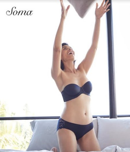 Vanishing Strapless Launch from Soma Intimates