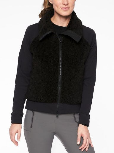 Range Sherpa Jacket from Athleta