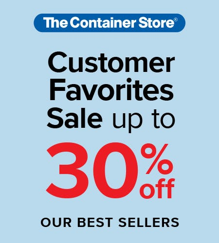 The Container Store Customer Favorites Sale from The Container Store