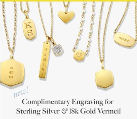 New Engravable Styles from Kendra Scott