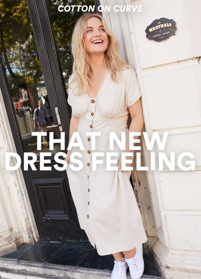 That New Dress Feeling from Cotton On
