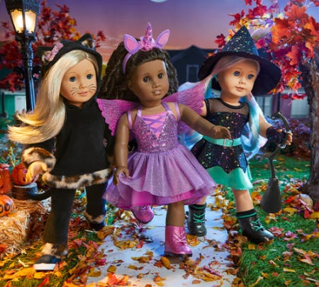 ALL-BOO Halloween Costumes from American Girl Place
