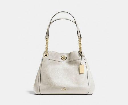 Turnlock Edie Shoulder Bag