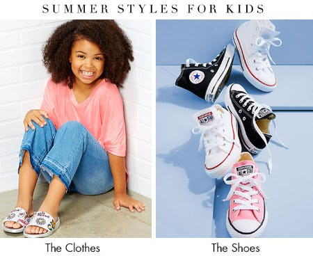 Summer Styles for Kids