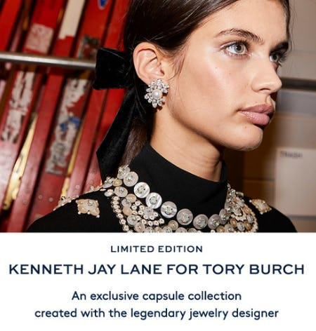 Kenneth Jay Lane for Tory Burch