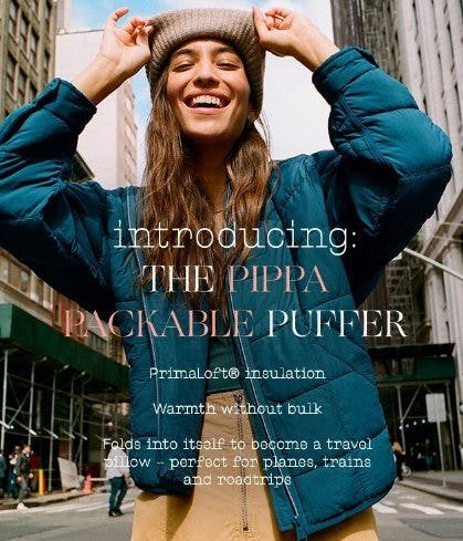 Introducing the Pippa Packable Puffer from Free People