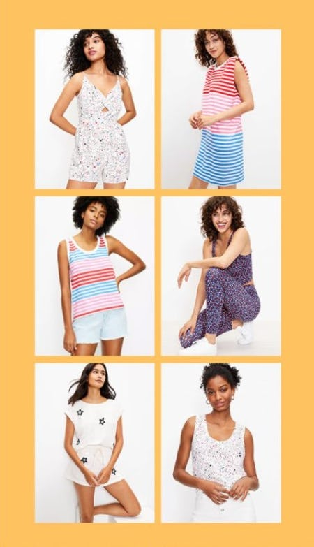 July Fourth Outfits from Loft