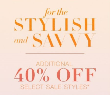 Additional 40% Off Sale Styles from BCBG