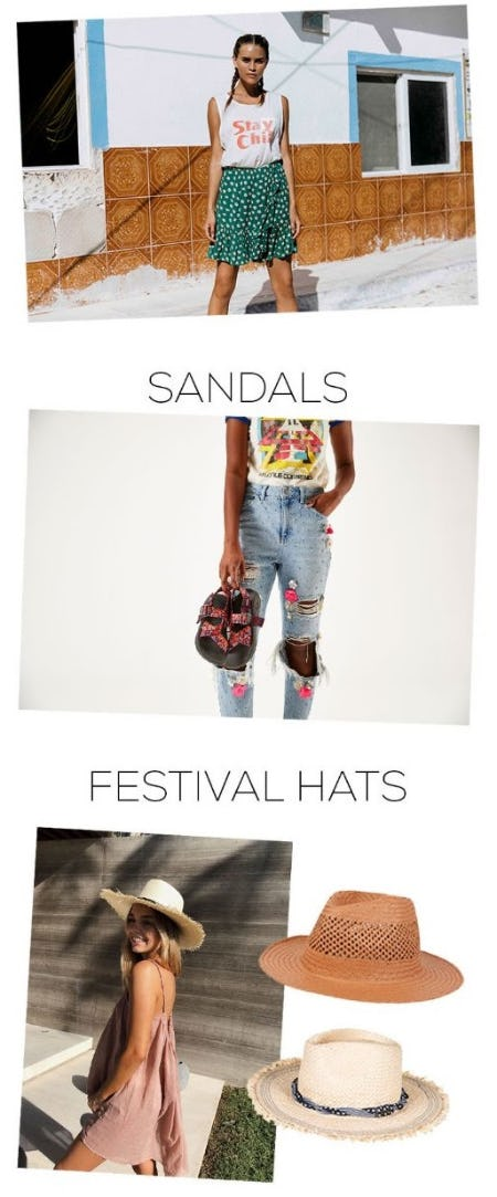 Festival Must Haves from Sun & Ski Sports