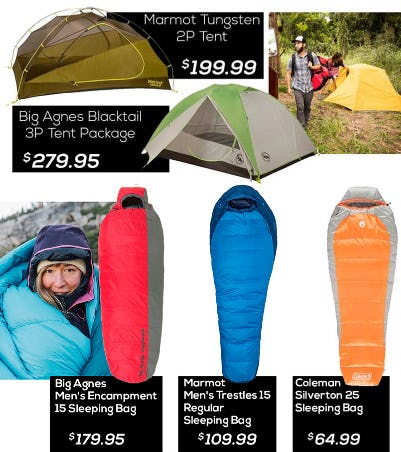 Hiking And Camping Gear from Sun & Ski Sports