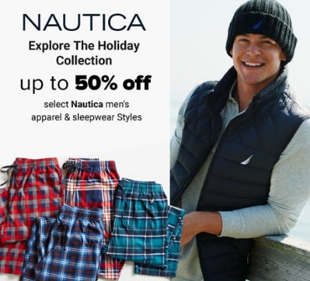 Up to 50% Off Nautica from Belk