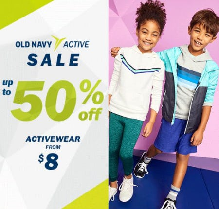 Old Navy Active Sale up to 50% Off from Old Navy