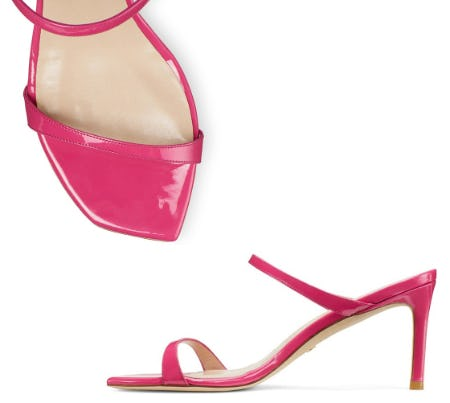 The Square-Toe Sandals from STUART WEITZMAN