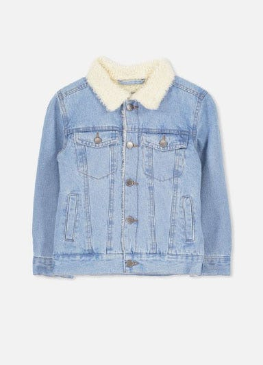 Bruce Denim Jacket from Cotton On
