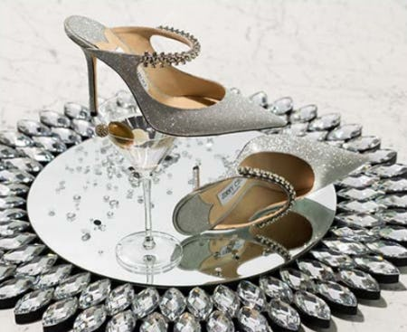 Metallic Shoes from Neiman Marcus