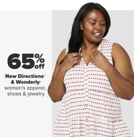65% Off New Directions & Wonderly from Belk