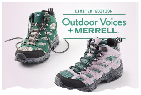 Limited Edition: Outdoor Voices + Merrell from Merrell