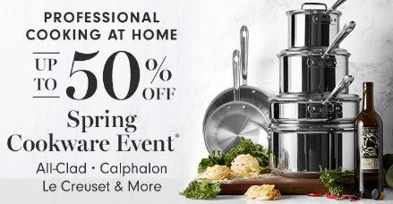 Spring Cookware Event up to 50% Off from Williams-Sonoma