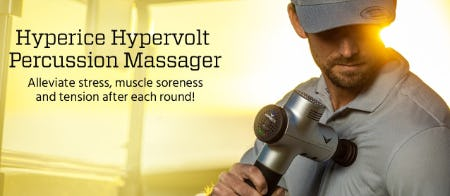 Hyperice Hypervolt Percussion Massager from Golf Galaxy