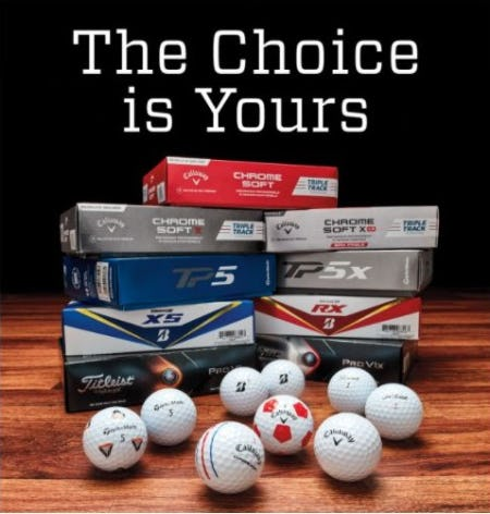Golf Balls for Every Player from Golf Galaxy