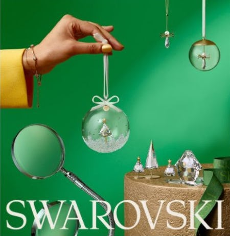 Swarovski for the Holidays and Everyday