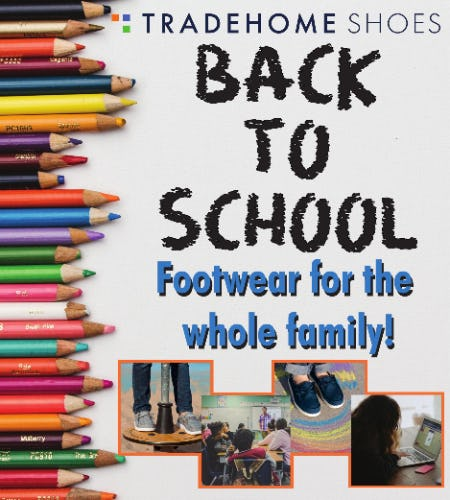 Back to School! from Tradehome Shoes