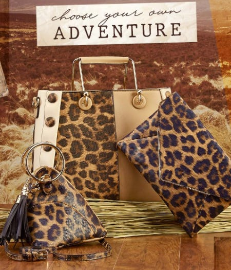 Animal Print Handbags from Versona Accessories