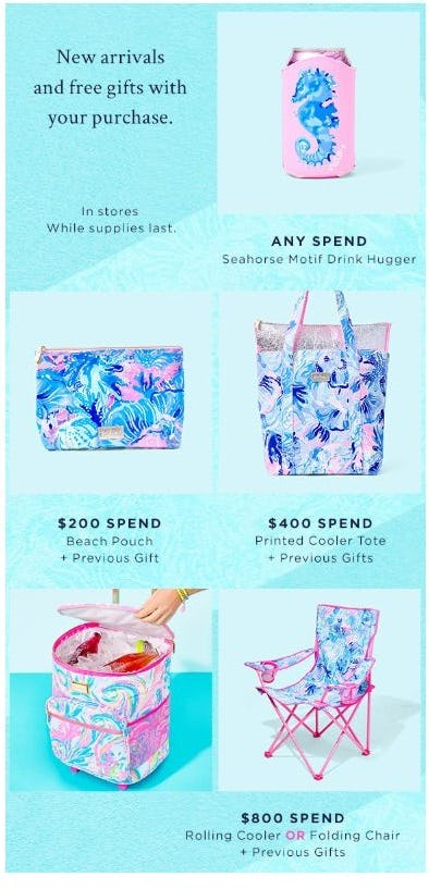 Free Gifts with Purchase from Lilly Pulitzer