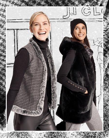 Faux Fur Outerwear from J. Mclaughlin