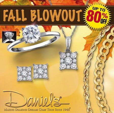 Daniel's Jewelers Fall Blowout from Daniel's Jewelers