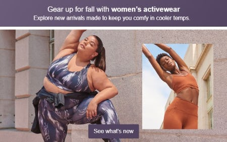 Gear Up For Fall with Women's Activewear. from Target