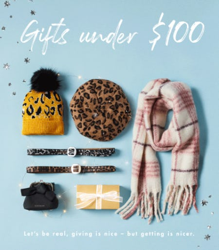 Gifts Under $100 from BCBG