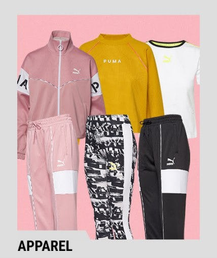 Discover the Latest Apparel from PUMA from Lady Foot Locker