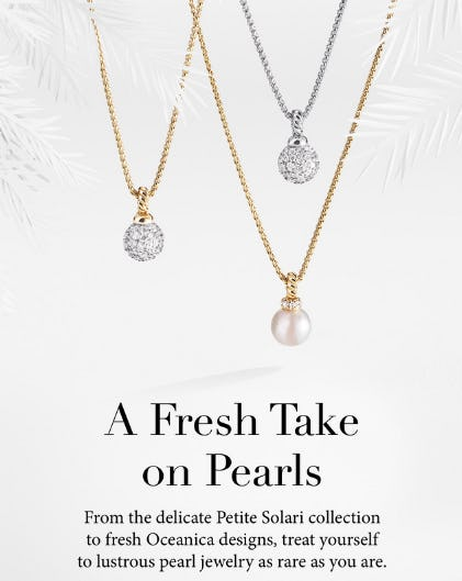Shop Our Pearl Jewelry