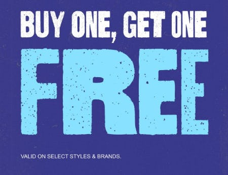 Buy One, Get One Free from Zumiez