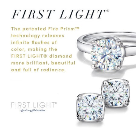 New First Light Diamond Earrings from Jared Galleria Of Jewelry