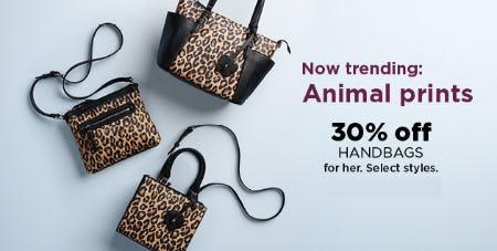 30% Off Handbags from Kohl's