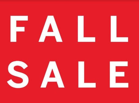 Fall Sale from Victoria's Secret